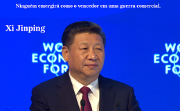Presidente da República Popular da China e Secretário-Geral do Partido Comunista da China Xi Jinping